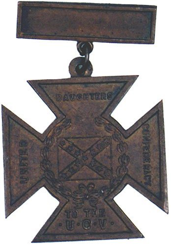111: Civil War Confederate Southern Cross of Honor