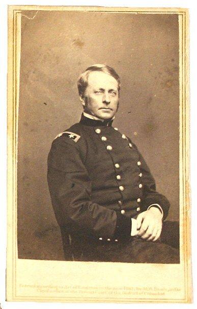 121: Civil War CDV of Gen. Hooker