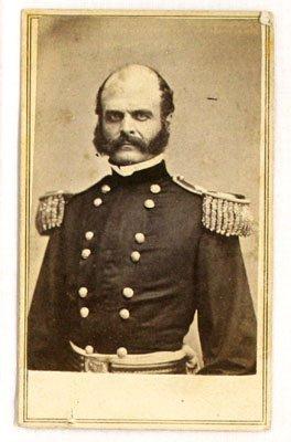 122: Civil War CDV of General Burnside