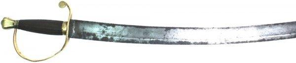 130: U. S. NCO sword 1820 - 1830s