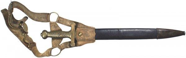 132: U.S. M1832 Foot Artillery Sword