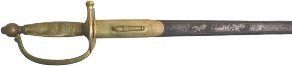 134: U.S. M1840 Civil War Infantry NCO sword