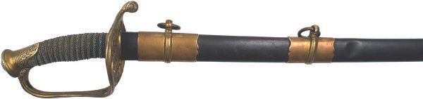 137: Civil War M1850 Infantry officer sword