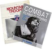 371 Lot of 2 US WWII uniform ref books