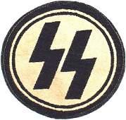 451 German WWII SS shirt emblem