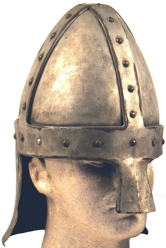 5: Excellent copy of an 11th Century Norman helmet