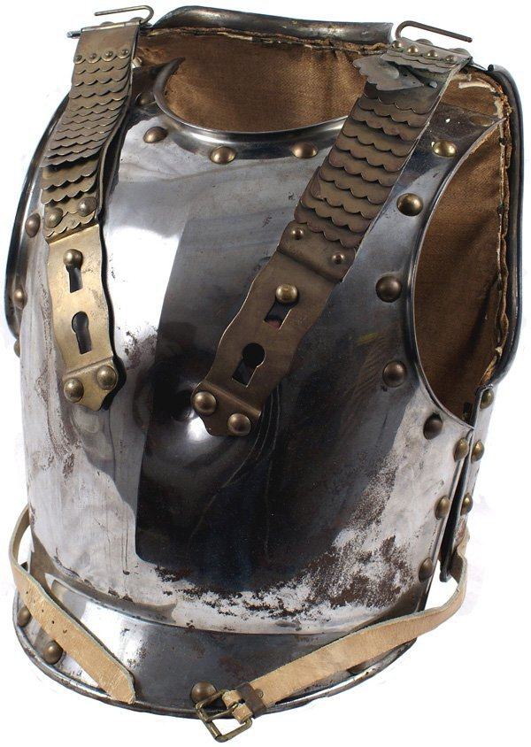10: Imperial German Prussian curass armor