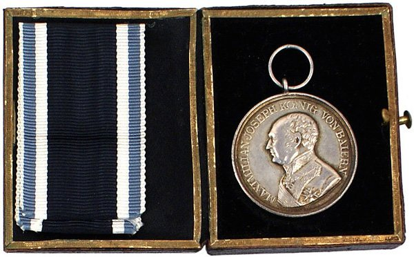 24: German Bavarian Military Bravery Medal