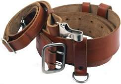 684 German WWII officer service belt