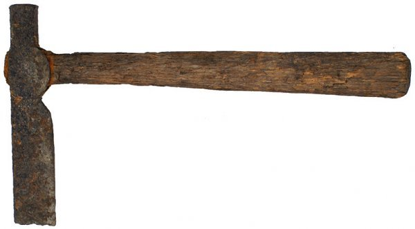 6: U.S. Revolutionary War Period belt axe