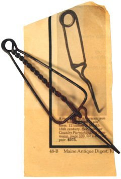 9: Early U.S. American pair pipe tongs
