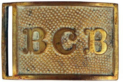 16: U.S. BCB militia belt buckle