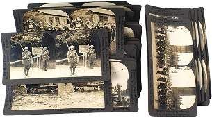 284 Lot of 50 US WWI Keystone stereo cards