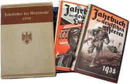 359 Set of 3 German 1938 yearbooks