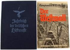 361 Lot of 2 German WWII books Westwall