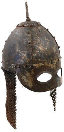 2: Eastern European mortuary helmet