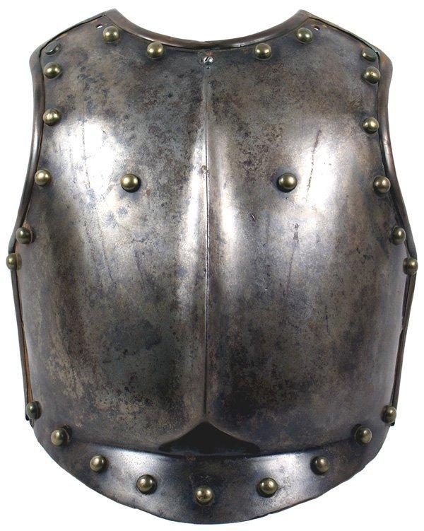 4: European 17th 18th Century armor curass frontplate