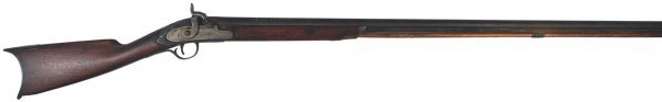 18: American percussion fowler rifle