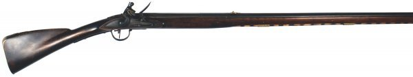 39: Reproduction of an American Colonial musket