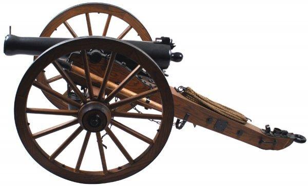 46: Civil War Model 1857 Napoleon field cannon copy