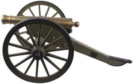 48 Model of a Civil War Napoleon field gun