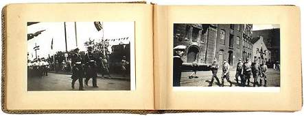 491 German WWII Navy pocket photo album