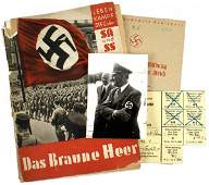 563: German 1932 pictorial book on SA The Brown Army