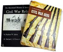 666 Lot of Civil War guns and relics reference books