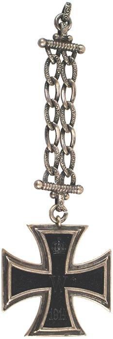 9: German WWI 1914 Iron Cross 2nd Class medal