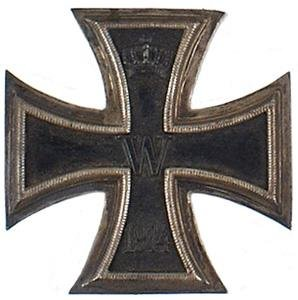 14: German WWI 1914 Iron Cross 1st Class medal