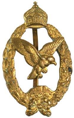 24: German WWI Commemorative Navy pilot badge