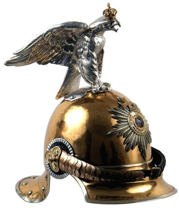 361: Prussian M1843/57 Officer Garde du Corps helmet