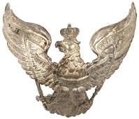 373 Prussian 7th Uhlan EM helmet plate