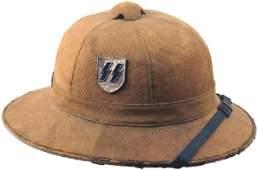 403 German WWII Afrika Korps pith helmet
