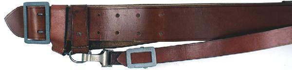 698 German WWII Army officer belt crossstrap