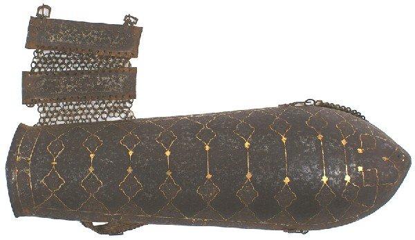 2: Persian 18th century vambrace forearm armor