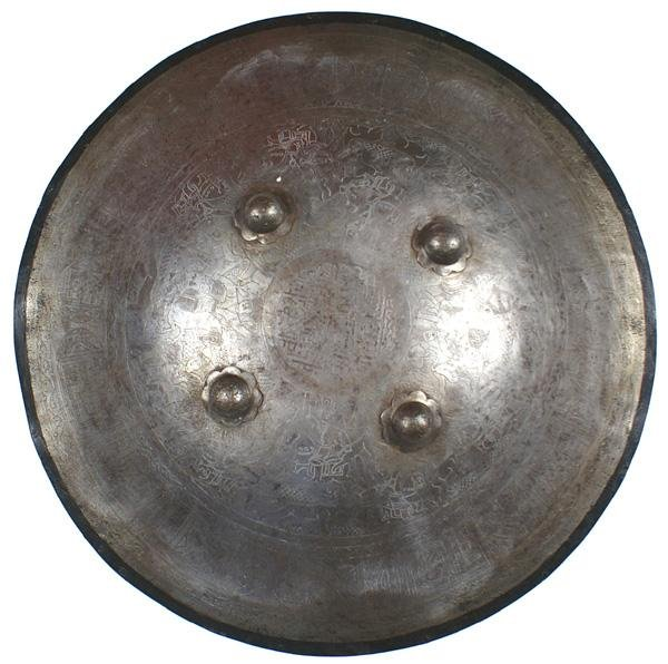 """3: Indo-Persian """"dhal"""" shield"""