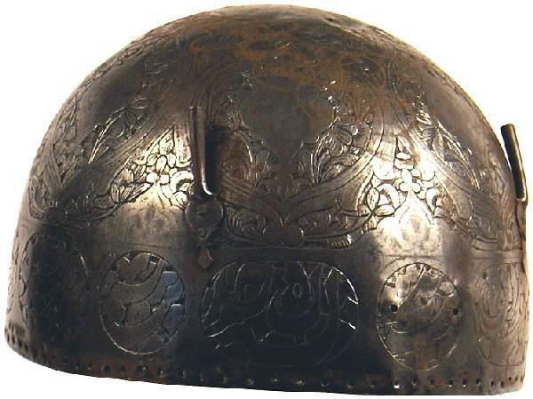 4: Indo-Persian Kulah Khud helmet