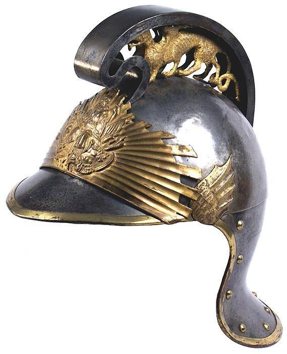 5: Unusual European Court Helmet Britannia