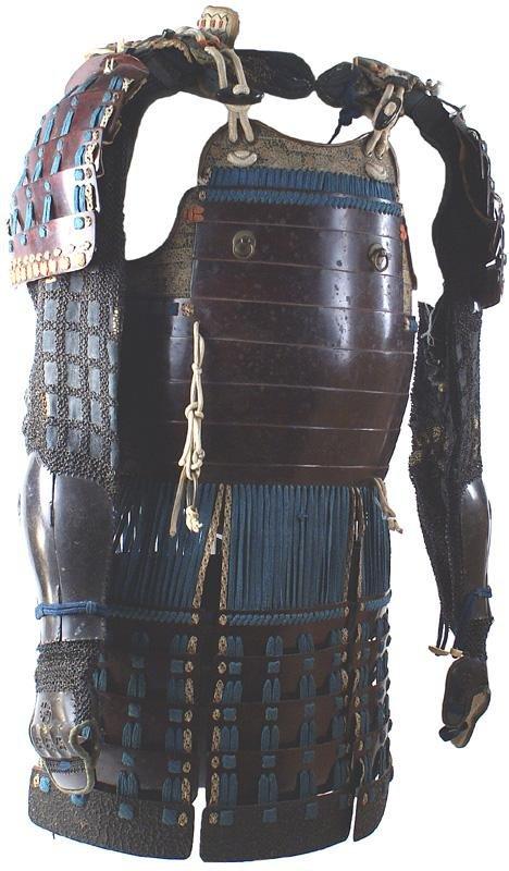 6: Japanese Edo Period armor Samurai