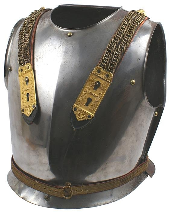 10: French officer parade cuirass armor curass