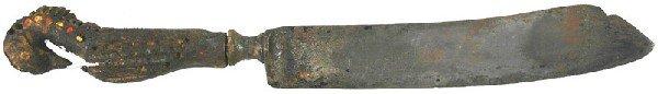 12: Arabic antique knife dagger