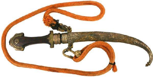 """13: """"Jambiya"""" Traditional dagger of Morocco"""