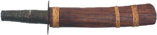 18: Southeast Asian dagger Circa 1880