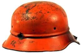 310: German WWII Luftschutz helmet