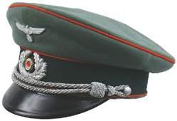 406 German WWII Army Artillery peaked cap