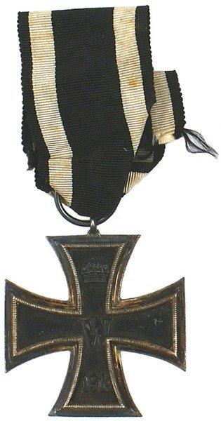 2: German 1914 Iron Cross 2nd Class medal