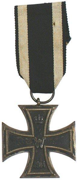 3: German 1914 Iron Cross 2nd Class medal