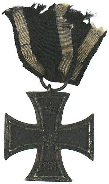 4: German 1914 Iron Cross 2nd Class medal