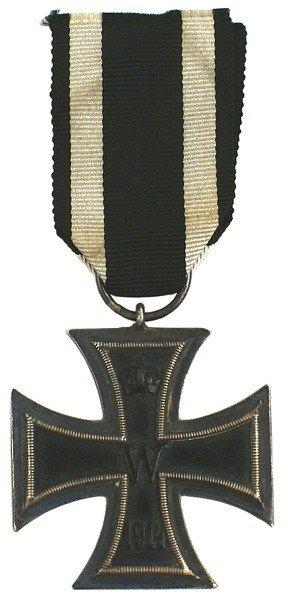 5: German 1914 Iron Cross 2nd Class medal